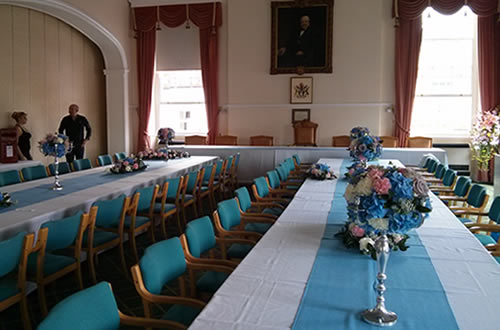 A wedding at the Guildhall, Andover